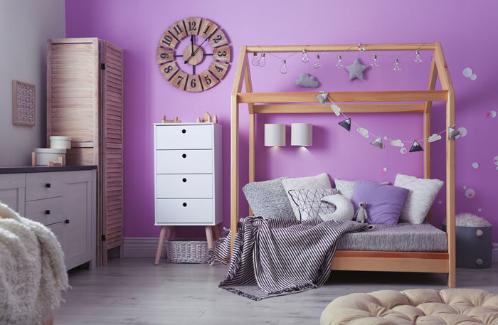 Hausbett Holz - natürliche Hausbetten aus Holz