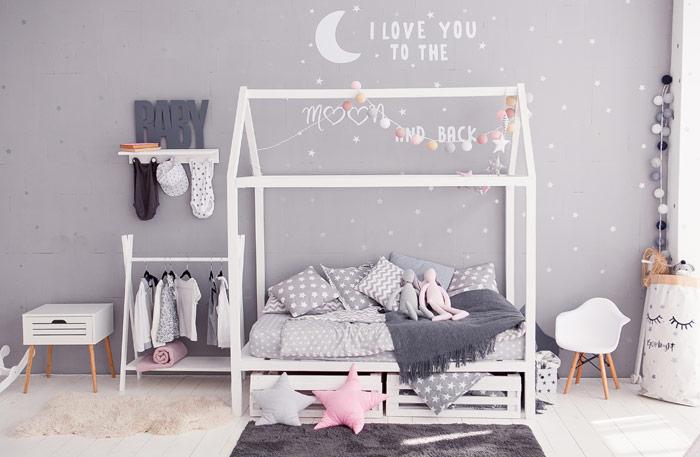 Hausbett mit Schublade oder Bettkasten