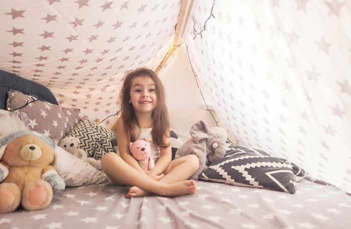 Tipi Bett Kinderbett Tipi Zelt
