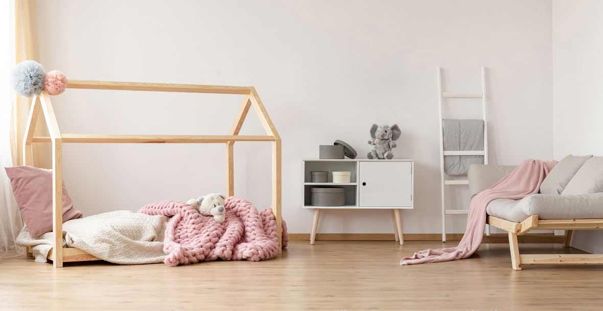 Hausbett Kinder - Kinderbett Haus
