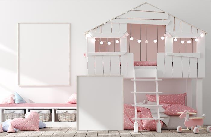 Baumhausbett - Baumhaus Kinderbett